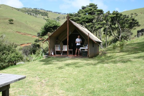Wainamu Luxury Tents: Our tent.