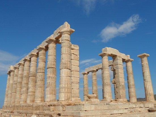 George's Taxi: Temple of Poseidon