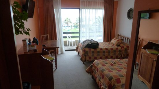 Hotel y Cabañas Mar De Ensueño: Zweckmäßig und sauber