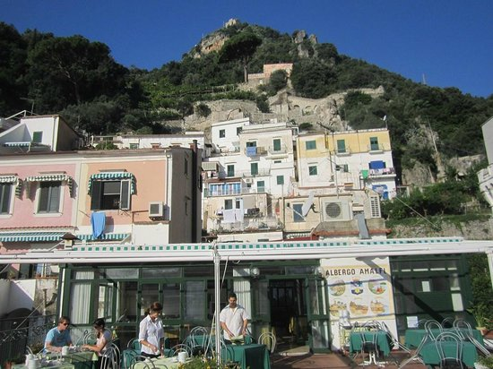 Hotel Amalfi: From Breakfast