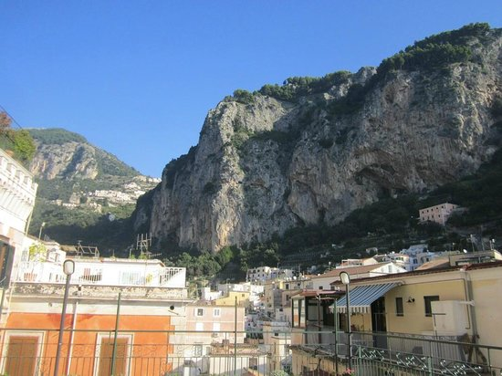 Hotel Amalfi: Amazing view from Breakfast on terrace