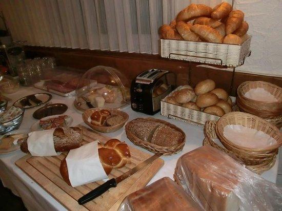 Hotel Weisshorn : 朝食