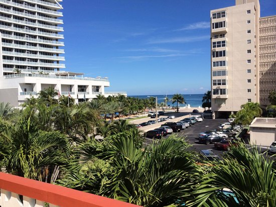 The Shell Resort: View from balcony of #124