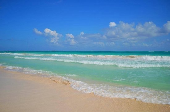 Grand Palladium Kantenah Resort & Spa: La plage