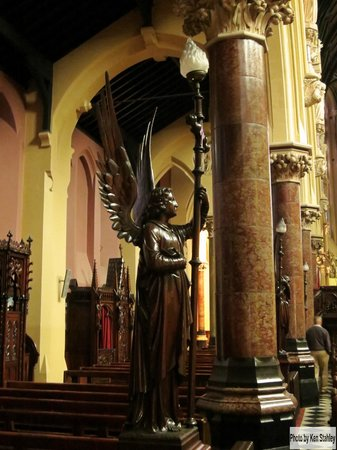 St. Peter and Paul's Church: Carved Wooden Angel Figure
