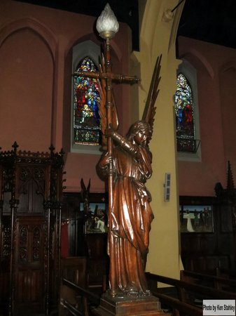St. Peter and Paul's Church : Carved Wooden Angel Figure