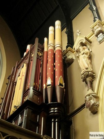 St. Peter and Paul's Church : Organ Pipes