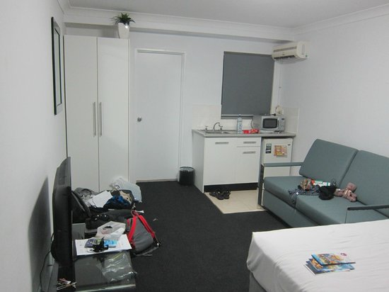 Central Railway Hotel: Room