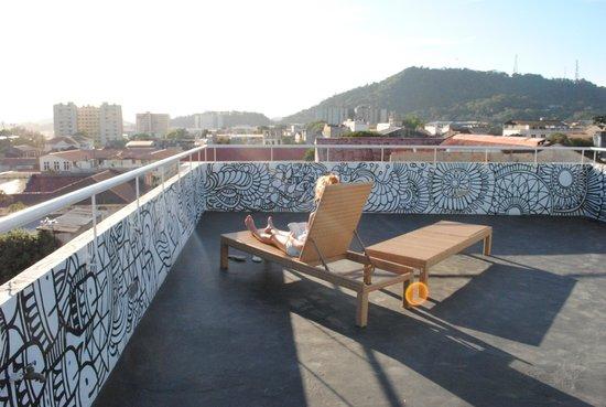 Panamericana Hostel: Solarium
