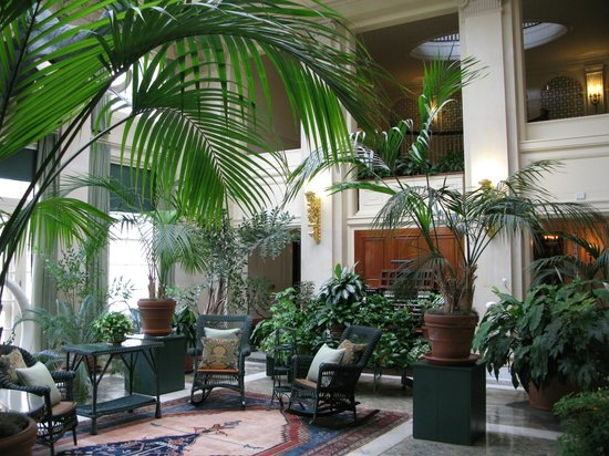 George Eastman Museum: Living area with Organ behind the plants which hid the Organist feet moving which he didn't like