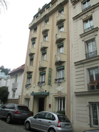 Hotel du Parc Montsouris : Frente do Hotel