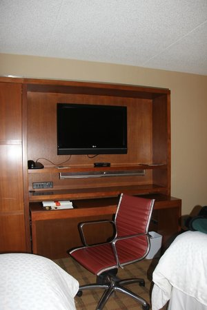 Entertainment unit in room, Four Points by Sheraton Winnipeg South  |  2935 Pembina Highway, Win