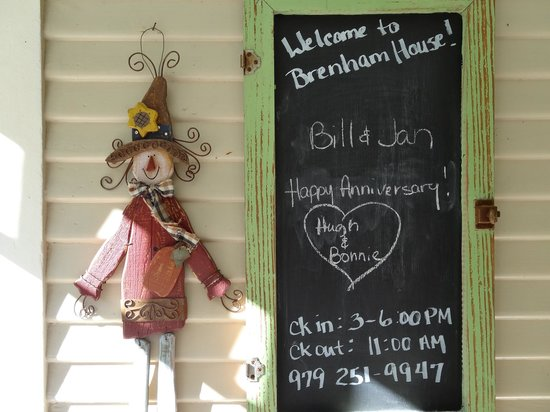 Brenham House Bed and Breakfast: Personal Touches Galore