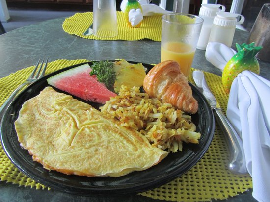 Curry House Bed and Breakfast: Delicious breakfast