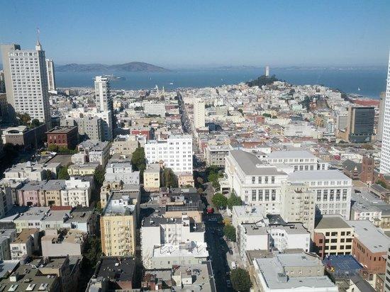 Grand Hyatt San Francisco: Pic from top floor