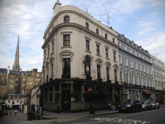 The Mitre in Lancaster Gate: The Mitre at Lancaster Gate