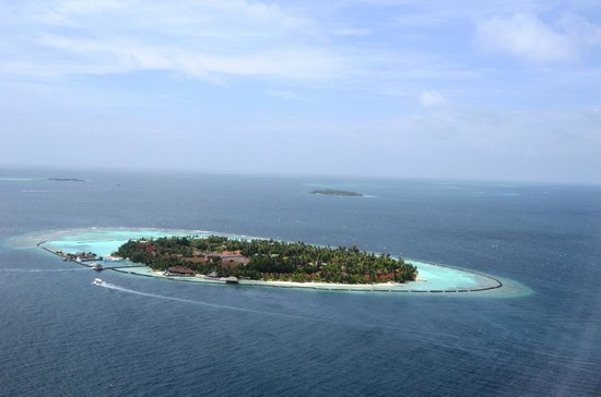 Kurumba Maldives : Kurumba from the skies