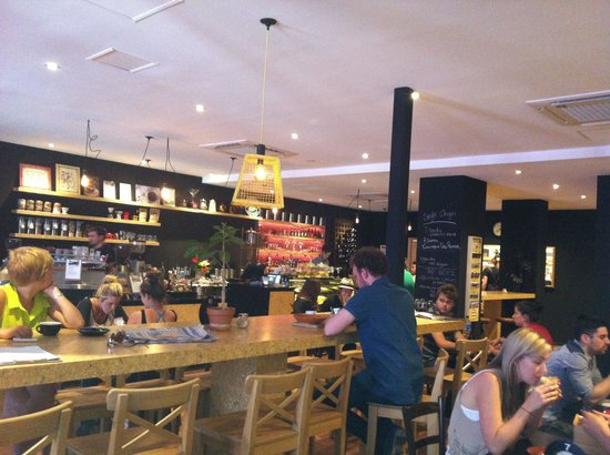 PURE - Boutique Coffee Bar: Coffee, wine, cafe, breakfast, lunch, dinner, drinks, wifi.  Trendy cafe, with a retro twist.