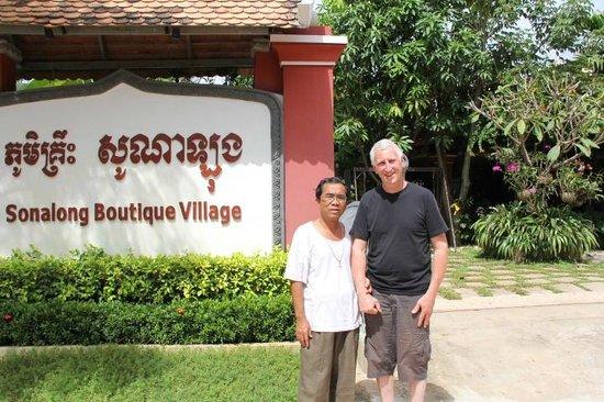 Sonalong Boutique Village & Resort : The charming Mr.HAK