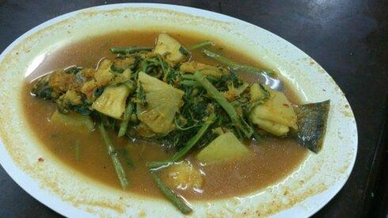 Kajang, Μαλαισία: kengsom ikan siakap