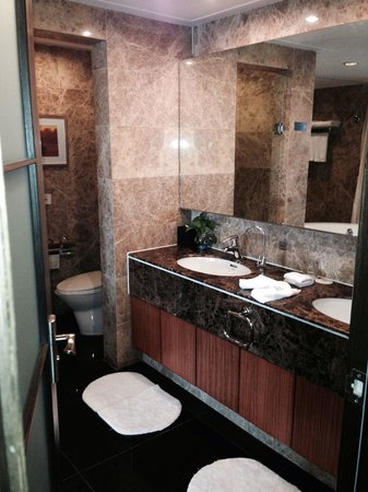 Blue Horizon International Hotel: The bathroom