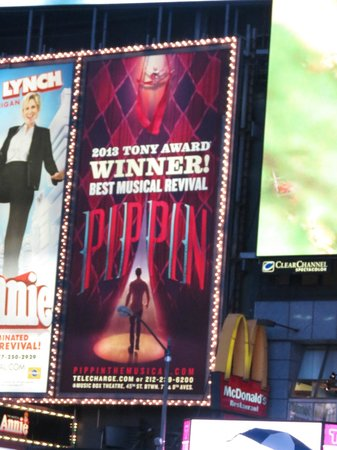 Pippin The Musical : Times Square