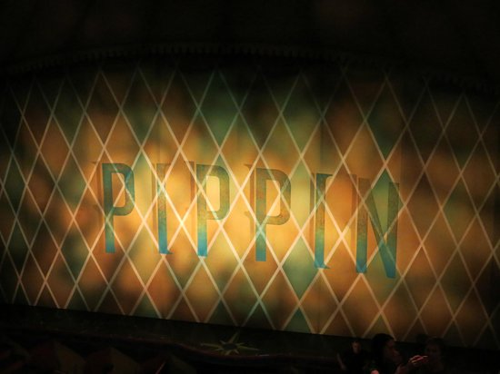Pippin The Musical : View right before the performance