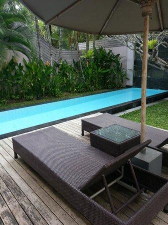 บาหลี ไอแลนด์ วิลล่าส์ แอนด์ สปา: Private Plunge Pool