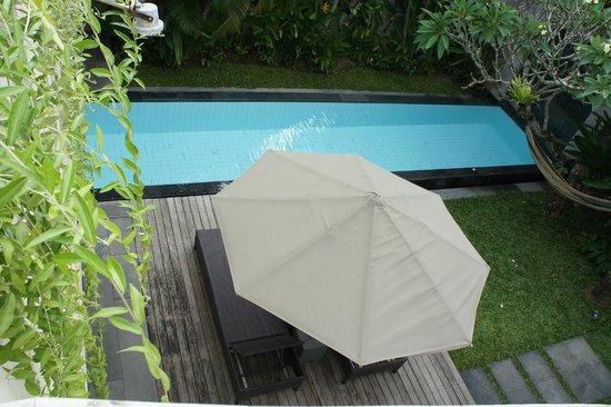 Bali Island Villas & Spa : Private Plunge Pool