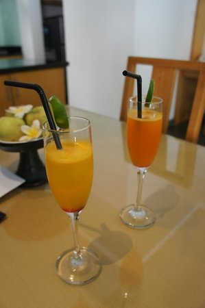 Bali Island Villas & Spa: Welcome drink