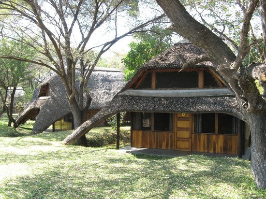 n'Kwazi Lodge & Camping Site: One of the Lodge Rooms