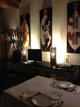 Dar Amane Guest Lodge: Dinner en suite