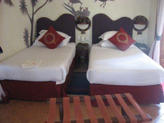 Amboseli Serena Safari Lodge: My room
