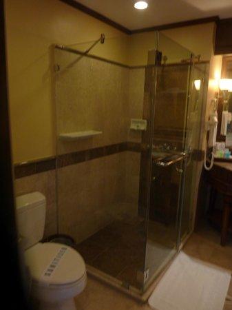 Henann Regency Resort & Spa: Bathroom Shower