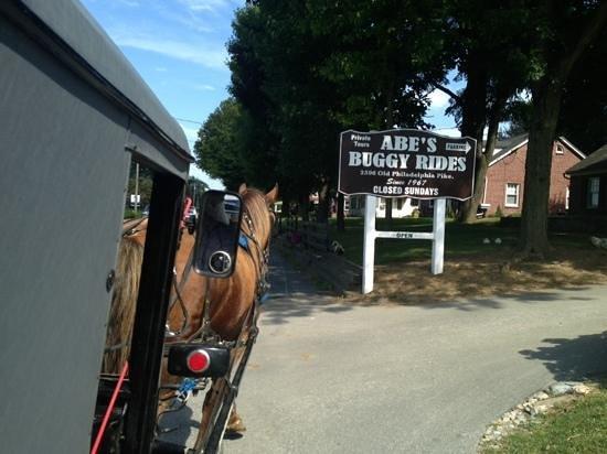 Abe's Buggy Rides : entrance