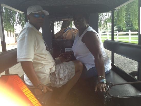 Abe's Buggy Rides : hubby and i