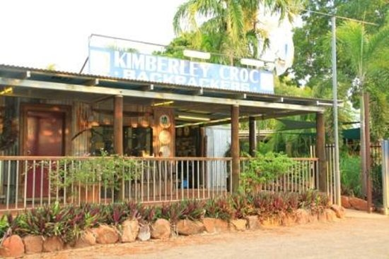 Kimberley Croc Backpackers YHA : Reception