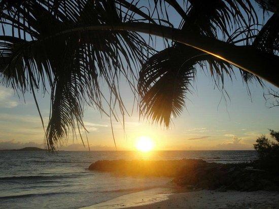 Cap Jean Marie Beach Villas: Cap Jean Marie Villas Sunset