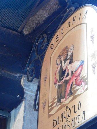 Ostaria al Diavolo e L'Aquasanta : Great place for lunch