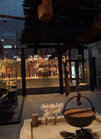 Nibutani Ainu Museum: 神の通る道