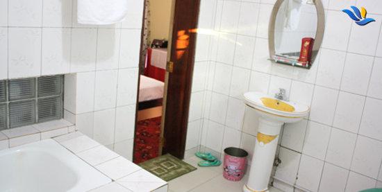 Anjouan, Comoros: Salle de bain