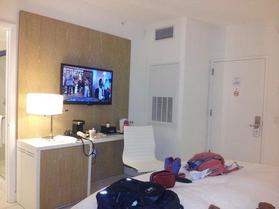 Pestana South Beach Art Deco Hotel: muy comoda la cama