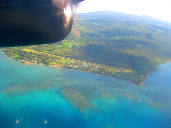 Aroha Taveuni: Flying from Taveuni