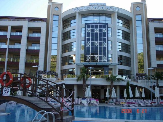 Grand Pasa Hotel: The hotel x