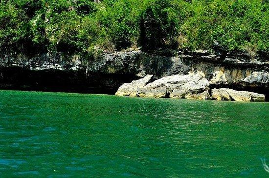 Borawan Island : covered beach