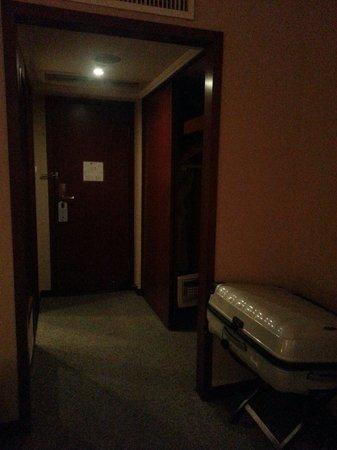 Rosedale Hotel & Suites : Very dim room... 1301