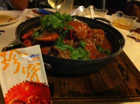 Jumbo Seafood@Dempsey: chili crab