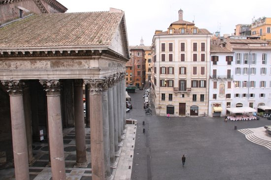 The Pantheon view from room