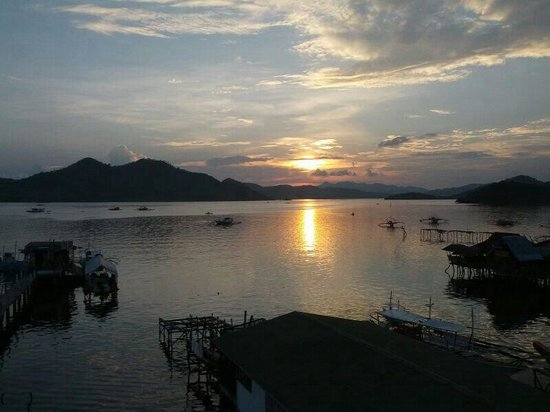 Sky restaurant, coron: View from the restaurant