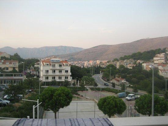 Villa Music: Вид из окна виллы